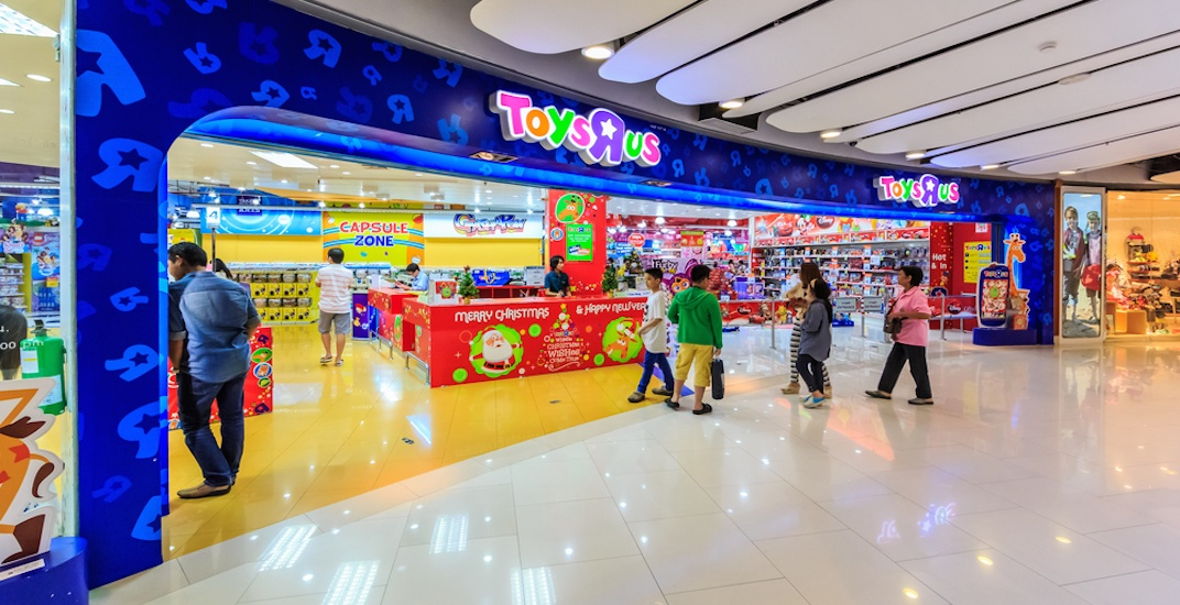 "Toys R S : Breaking blue goodbye toys ""r us"