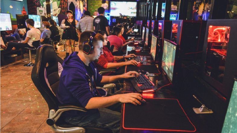 GLHF Game Bar in Jacksonville, Florida -- the site of a mass shooting incident.