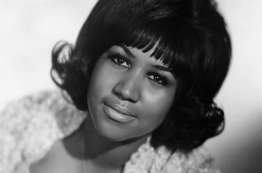 Young Aretha Franklin in an undated photo.
