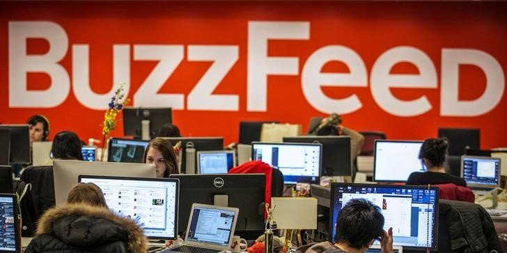 Buzzfeed headquarters located in California.