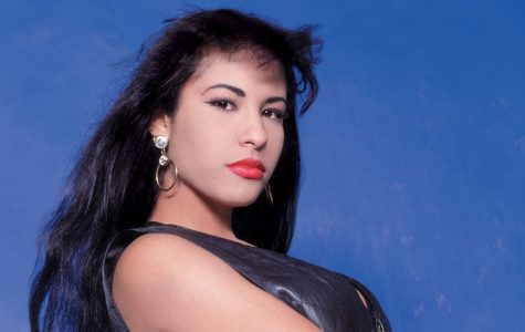 Selena Quintanilla during Variety photo shoot.