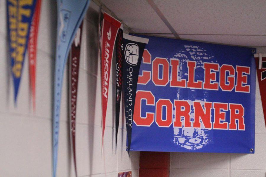 College corner in the SSC