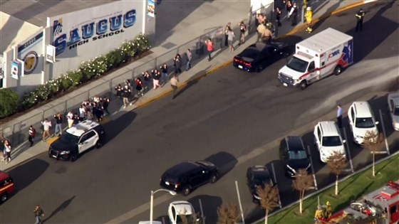 Santa Clarita, California, high school shooting leaves multiple people injured