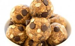 This is a picture of peanut butter balls. They are easy to make and so delicious!