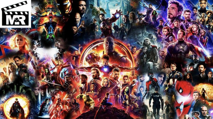 A college of all the MCU movie posters
