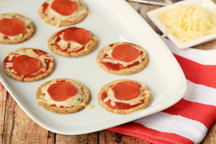 Easy Pizza Crackers Recipe