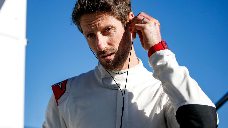 Romain Grosjean prepares to return to the racing world this month