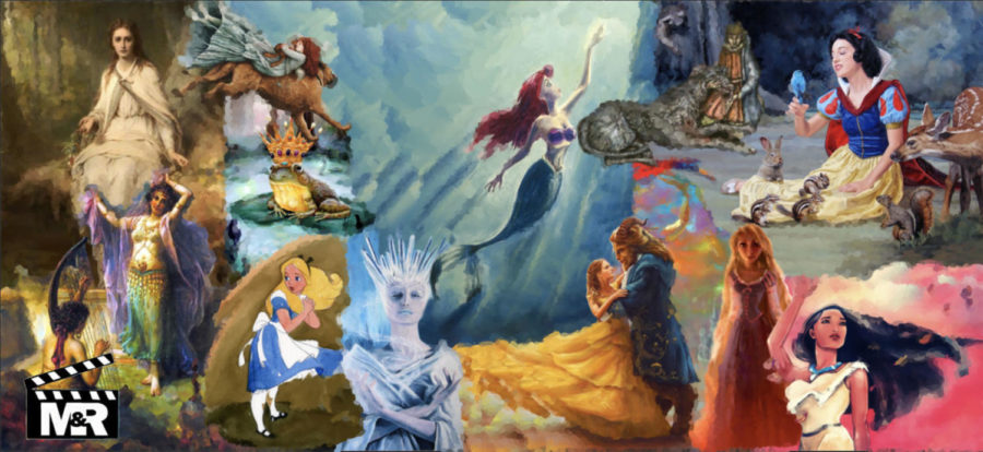 A collage of Disney stories