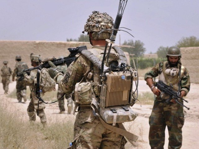 The U.S. is pulling troops out of Afghanistan